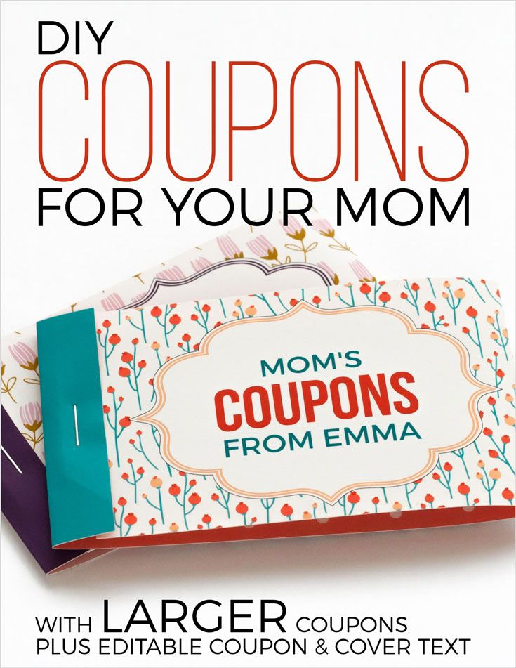 free printable mothers day coupons keeaushia mother day gifts