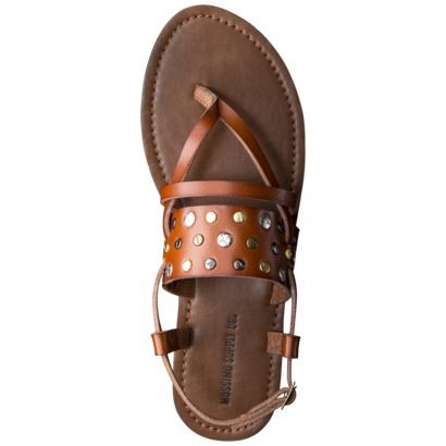 0bc58b237253 Women s Mossimo Supply Co. Sonora Flat Sandal - Cognac.  20 sweet deal.