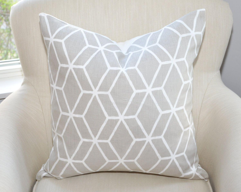 Braemore Diamond Geometric Pillow Cover