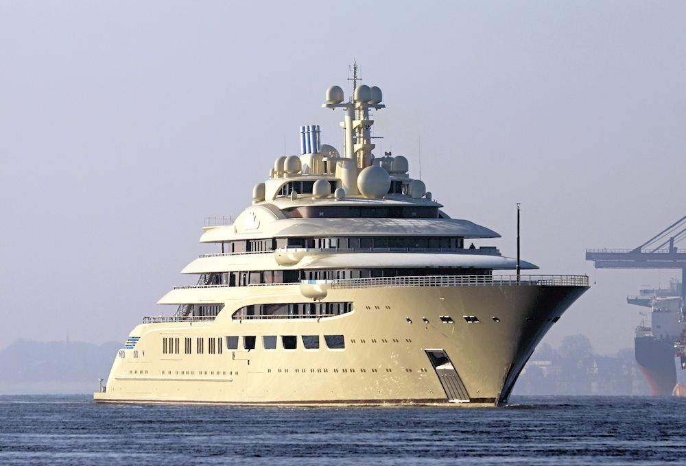 The 156m Lürssen Project Omar on seatrials | SuperYacht Times