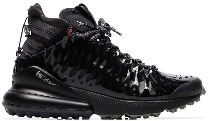 Nike Black ISPA Air Max 270 High Top