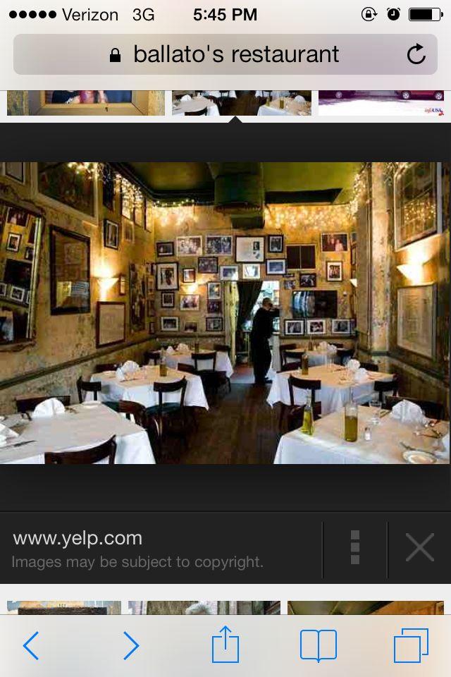 Emilio's Ballato on Houston | Home decor, Liquor cabinet ...