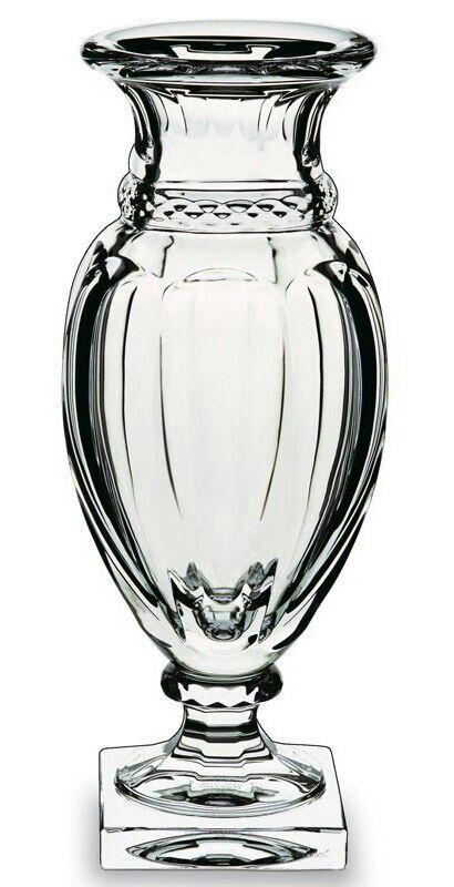 Baccarat Crystal Vase Crystal Vase Crystal Glassware Baccarat Crystal