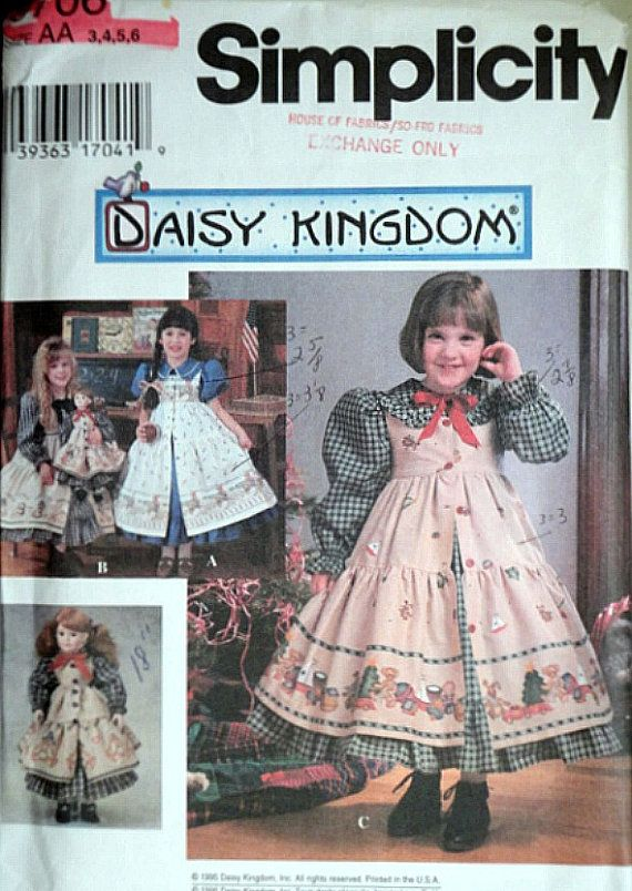 Simplicity 9706 Daisy Kingdom Sewing by MemoryMadeMercantile