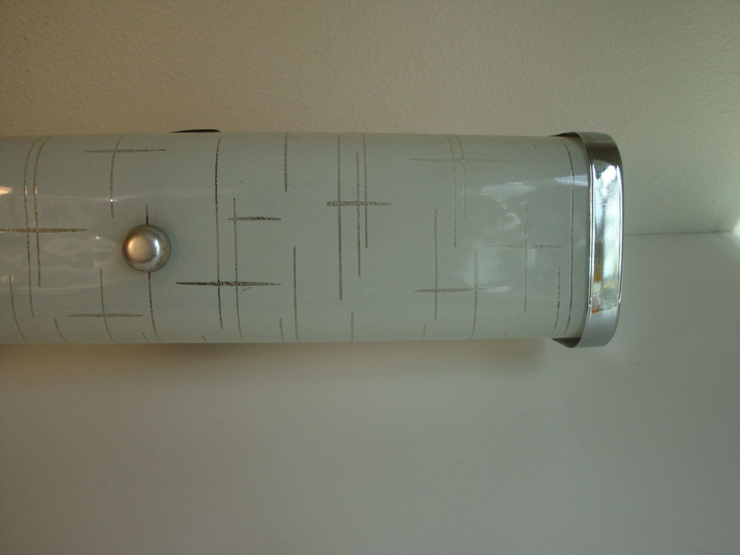 Mid Century Bathroom Lighting Fixture