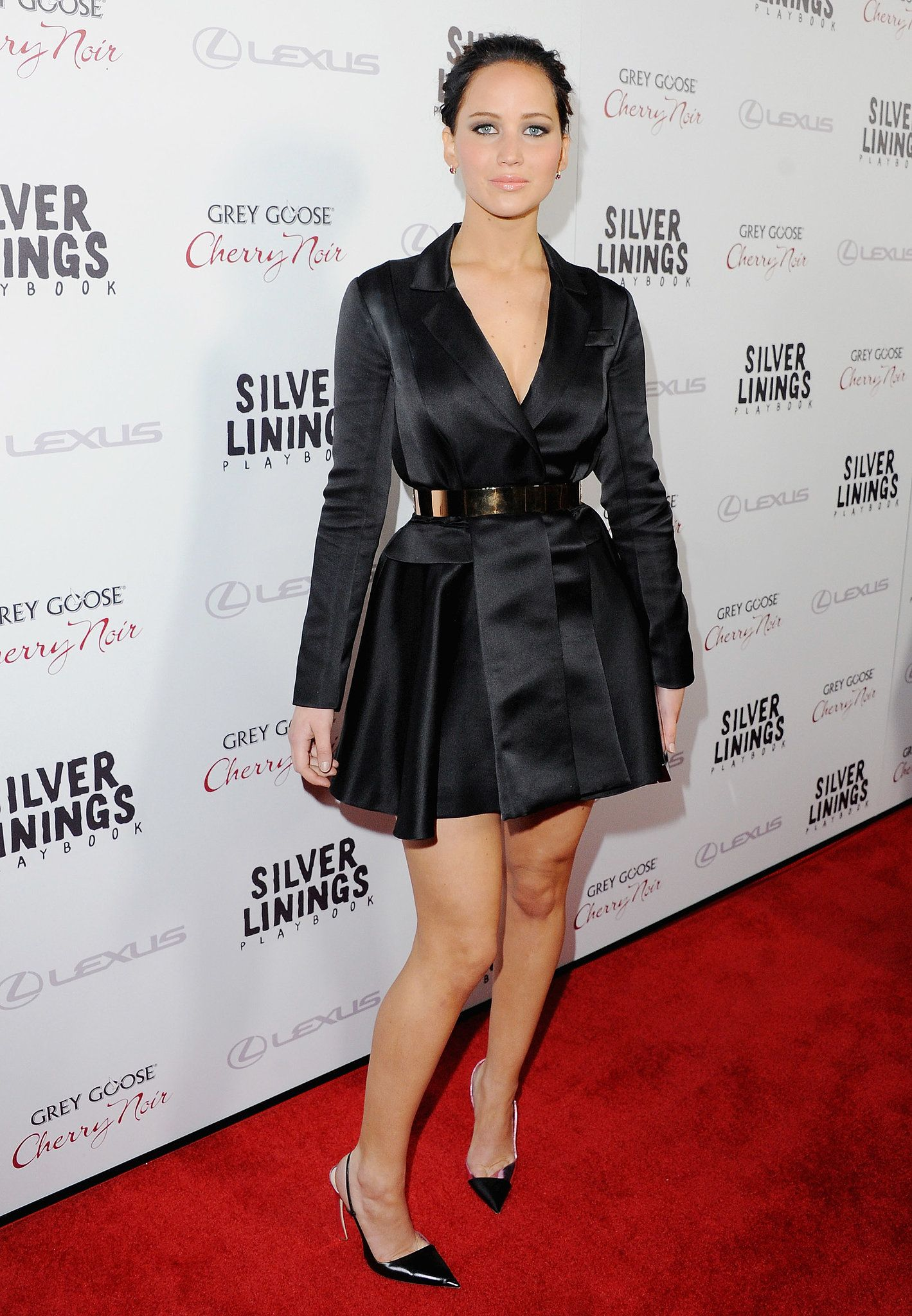 At the LA premiere of Silver Linings Playbook Jennifer Lawrence