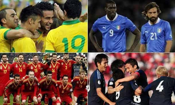 Veja quanto vale cada seleção que disputa a Copa das Confederações http://r7.com/LtlO