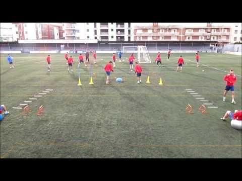 Circuito Tecnico Futbol : Calentamiento circuito técnico táctico descargas web líder