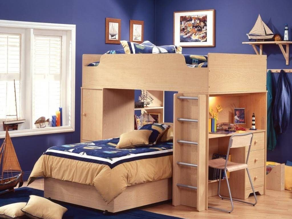 Bunk Bed Bedding Sets For Boy And Girl Neutral Interior Paint