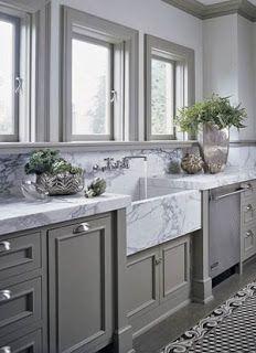 Grey Kitchen Grey Kitchen Designs Home Kitchens Marble