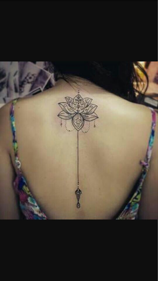 Henna Tattoo Back Spine: Image Result For Spine Tattoos Womens