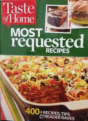 Taste of home most requested recipes new hardcover cookbook buy taste of home most requested recipes new hardcover cookbook buy now only 595 forumfinder Gallery