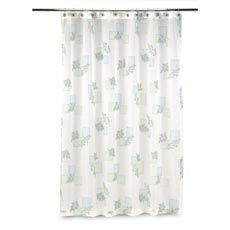 Rainier Fabric Shower Curtain By Croscill Fabric Shower Curtains