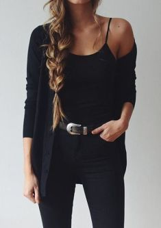 10 Cute Fall Outfits To Wear To Class  #fitness #Clothes_black