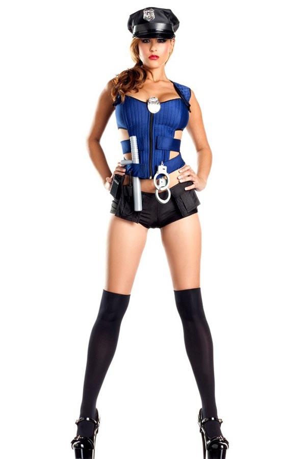 billig sexy Cop Kostüm
