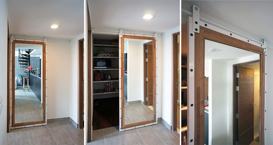 Regroup Architecture Duplex Loft Thonglor In 2020 Duplex Loft Sliding Doors