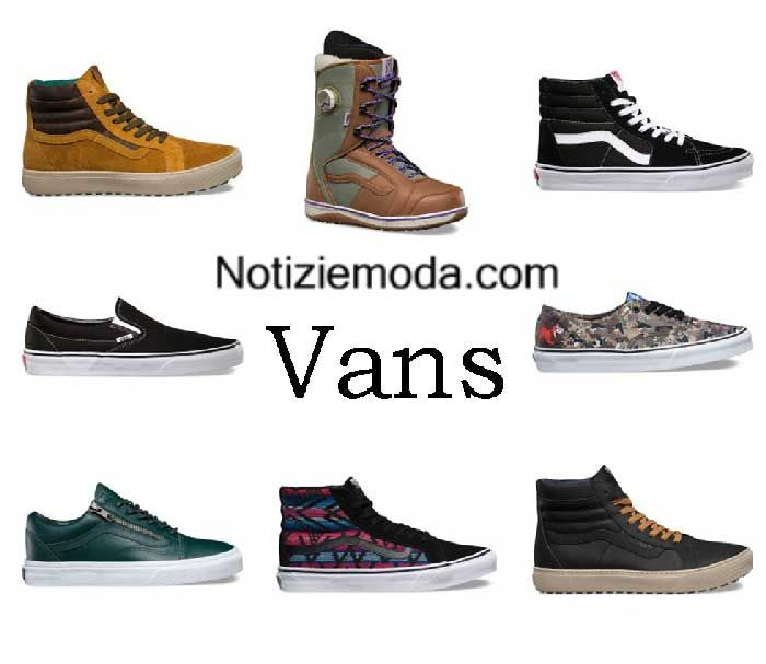 Sneakers Vans autunno inverno 2016 2017 donna a0f072c2763