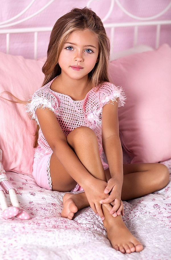 Nn Little Girl Model Pics: Dasha Kreis, Fashion Model Of Russia.