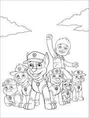 dibujos de la patrulla canina para colorear - Buscar con Google