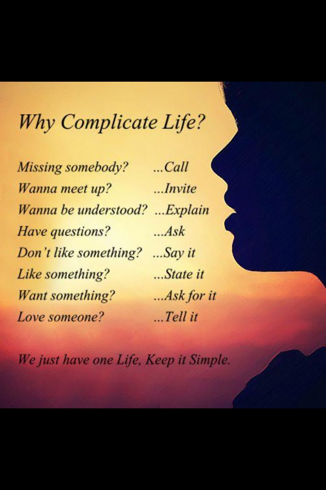 Raw For Beauty Why Complicate Life Beautiful Quotes Keep Life Simple