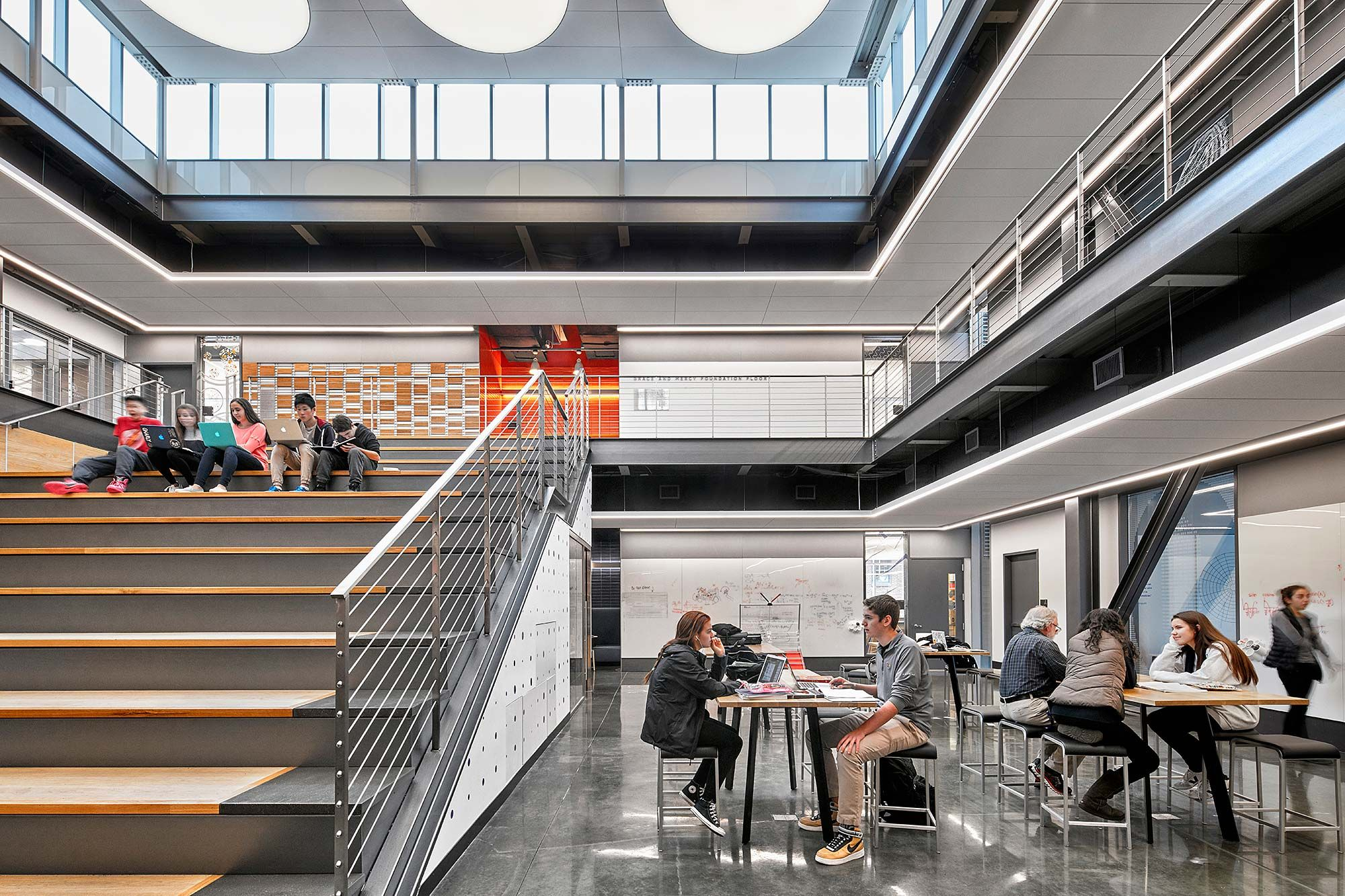 This new building at DwightEnglewood embodies the schools STEM