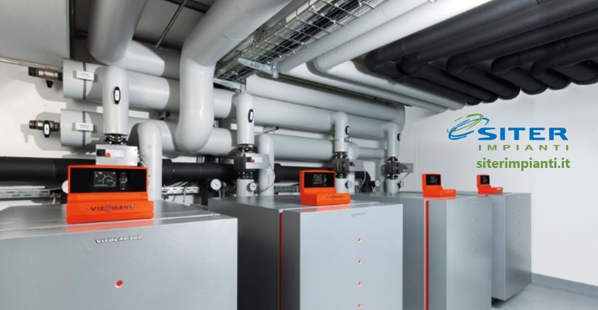 #SITER Impianti ha installato tre #pompedicalore geotermiche acqua-acqua #Viessmann Vitocal 300-G presso il #PalazzoLambertenghi, a #Sondrio