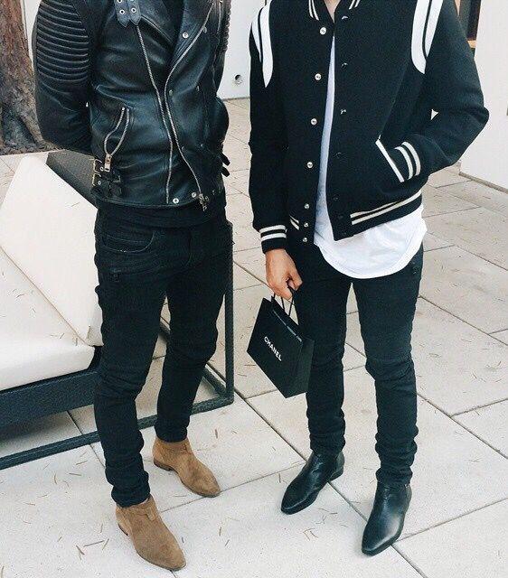 f15ed78ee50c Saint Laurent Shoes Mens, Saint Laurent Shirt, Street Wear, Men Street,  Urban