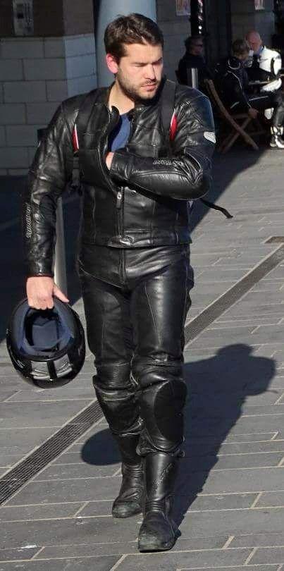 gay leather biker