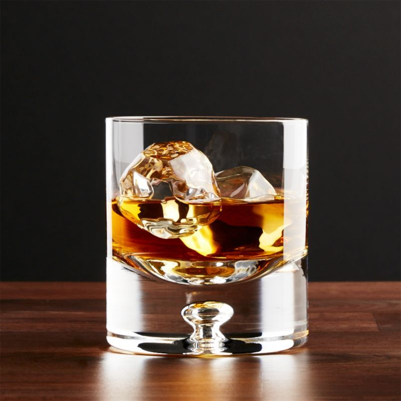 Direction 9 Oz Double Old Fashioned Glass Reviews Crate And Barrel In 2020 Old Fashioned Glass Essential Glassware Crate And Barrel
