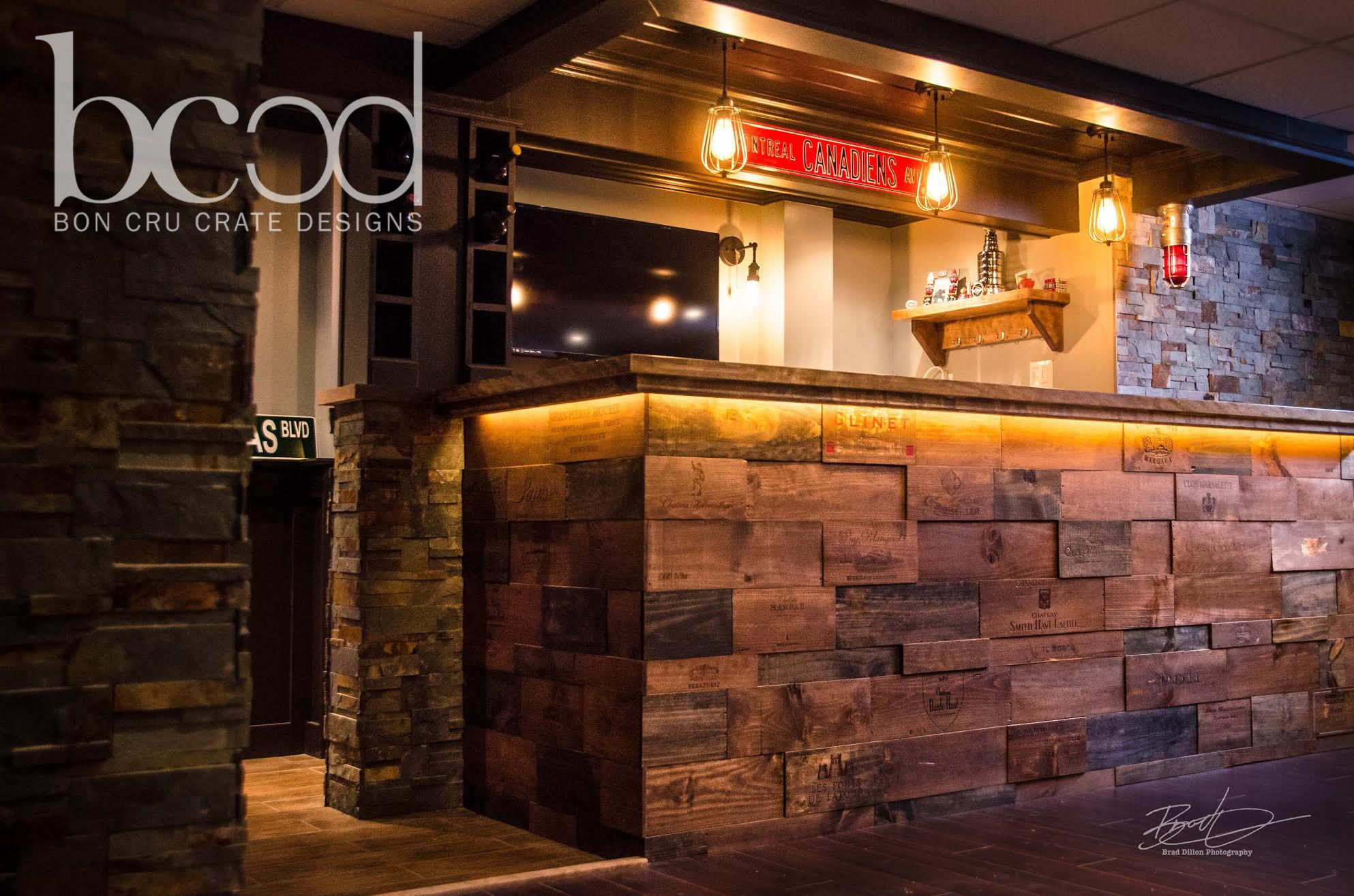 Wood Stone Bar Front - Commerical  Bar - Pinterest