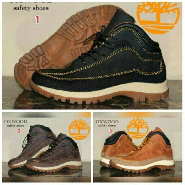 Saya Menjual Sepatu Timberland Boots Oxwood Safety Pria Murah