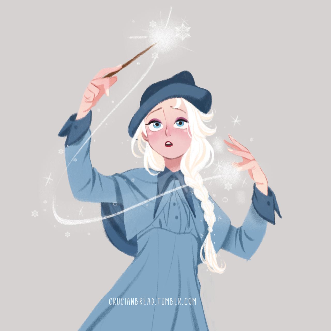 Elsa by Hyanglim Kim [©2016]