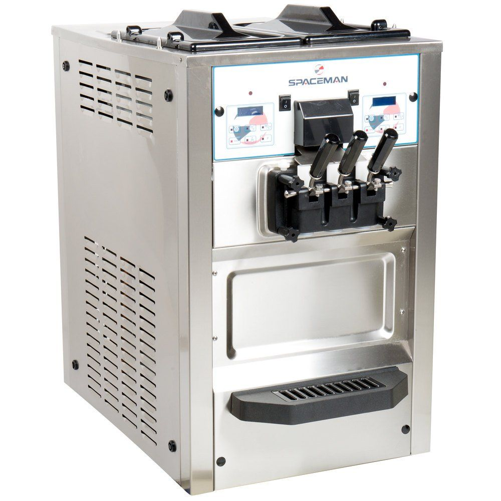 Spaceman 6235ah Soft Serve Ice Cream Machine With Air Pump And 2