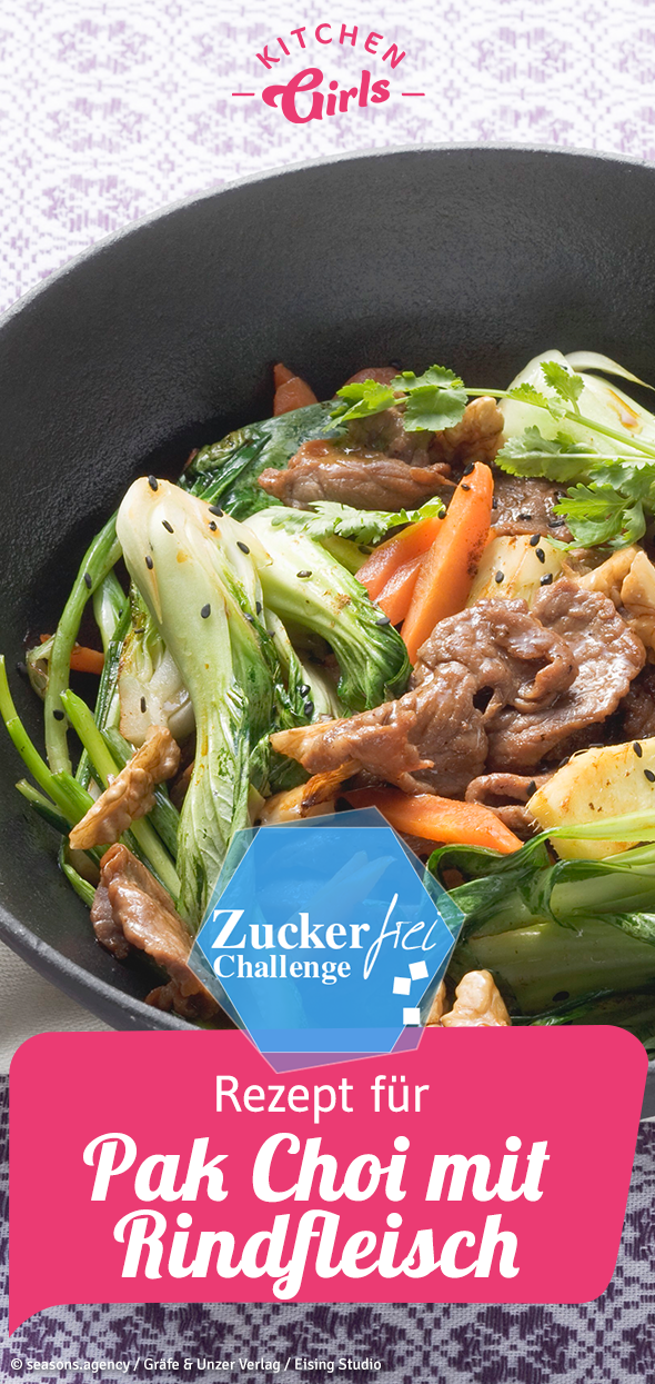 Photo of Recipe for Pak Choi with beef – Asian sugar-free cooking