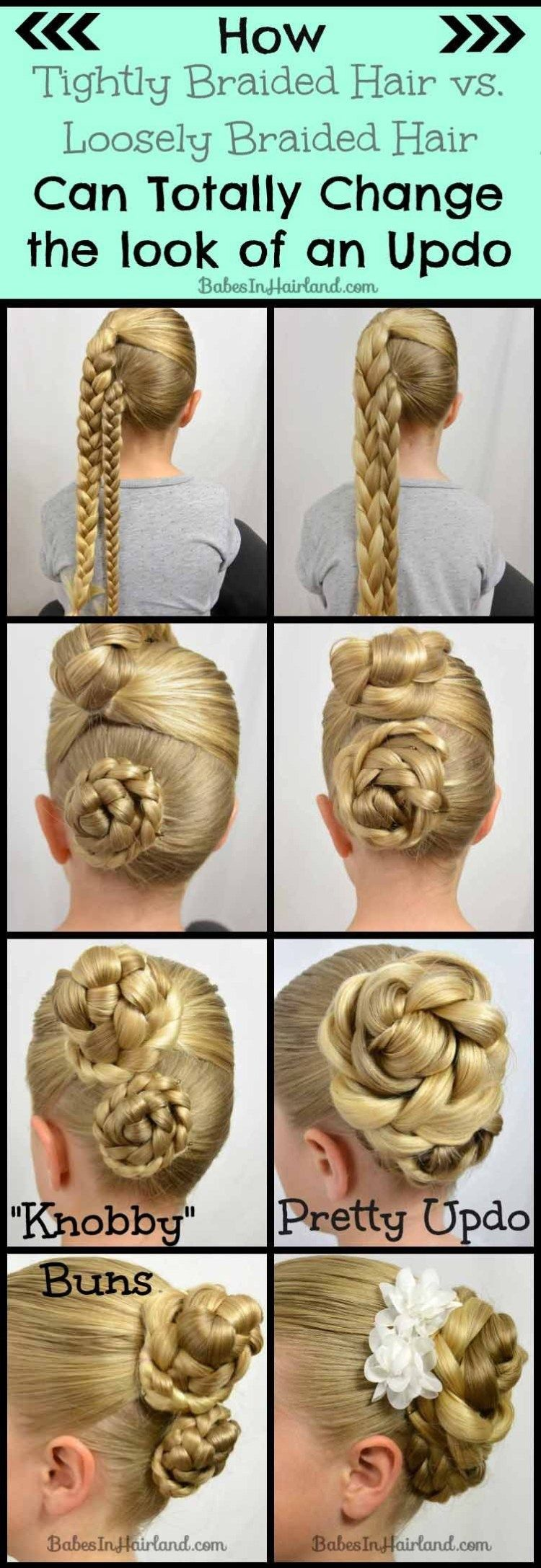 Easy Easter Updo and a Hair Trick #loosebraids