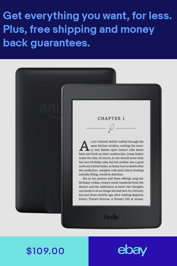 New Amazon Kindle Paperwhite Black 6 High Resolution 7th Gen With Special Offer Kindle Paperwhite Ebook Reader Amazon Kindle
