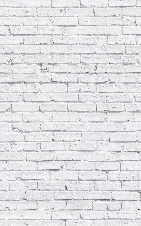 Clean White Brick Wallpaper Mural images