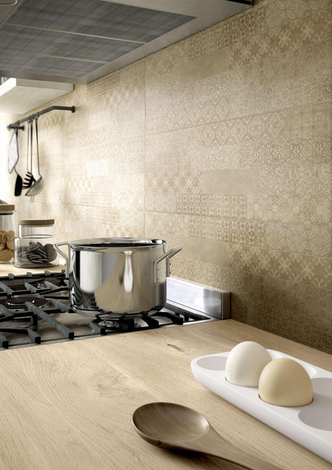 Marazzi #Clayline Decoro Pattern 22x66,2 cm MMUQ | #Gres #tinta ...