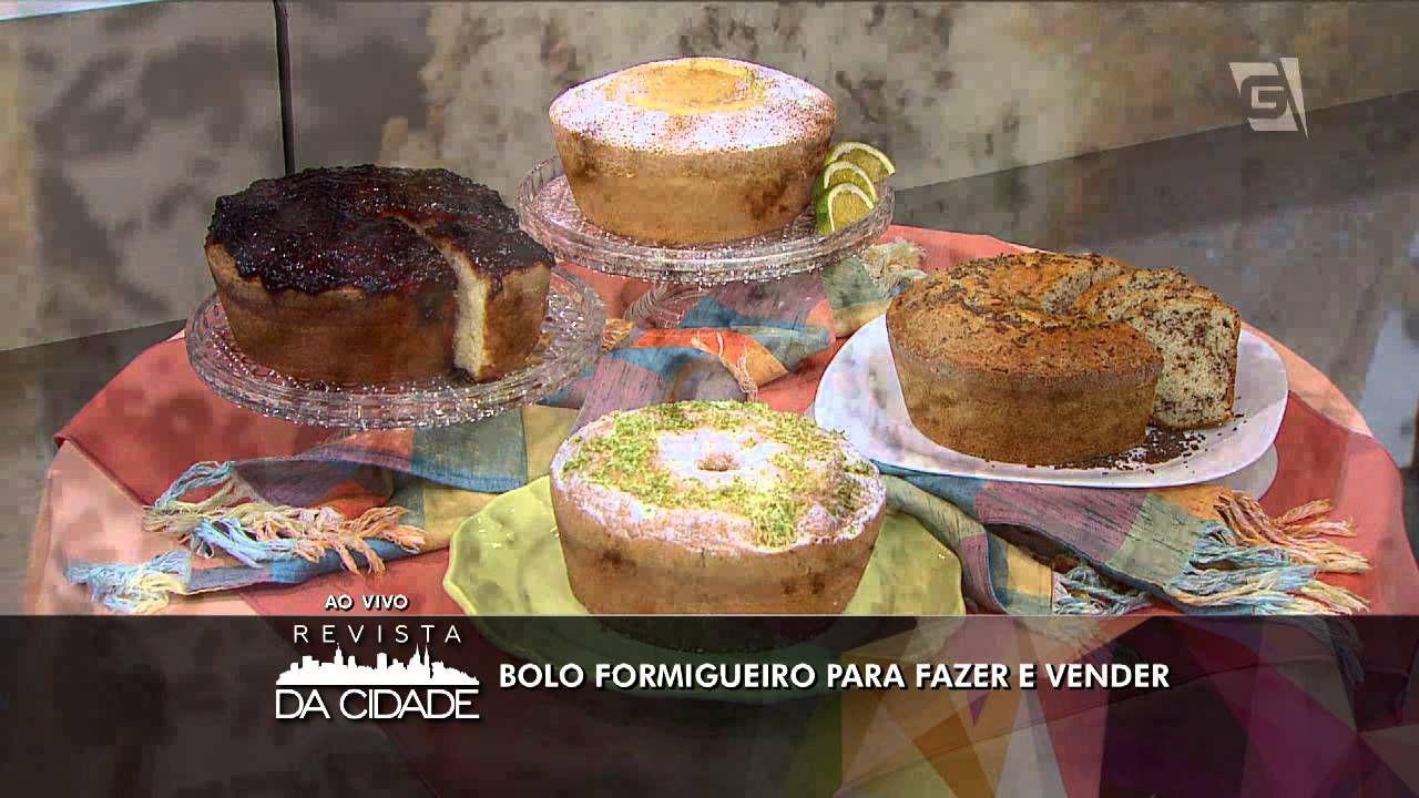Revista da Cidade - Bolo Formigueiro para fazer e vender (12/04/16)