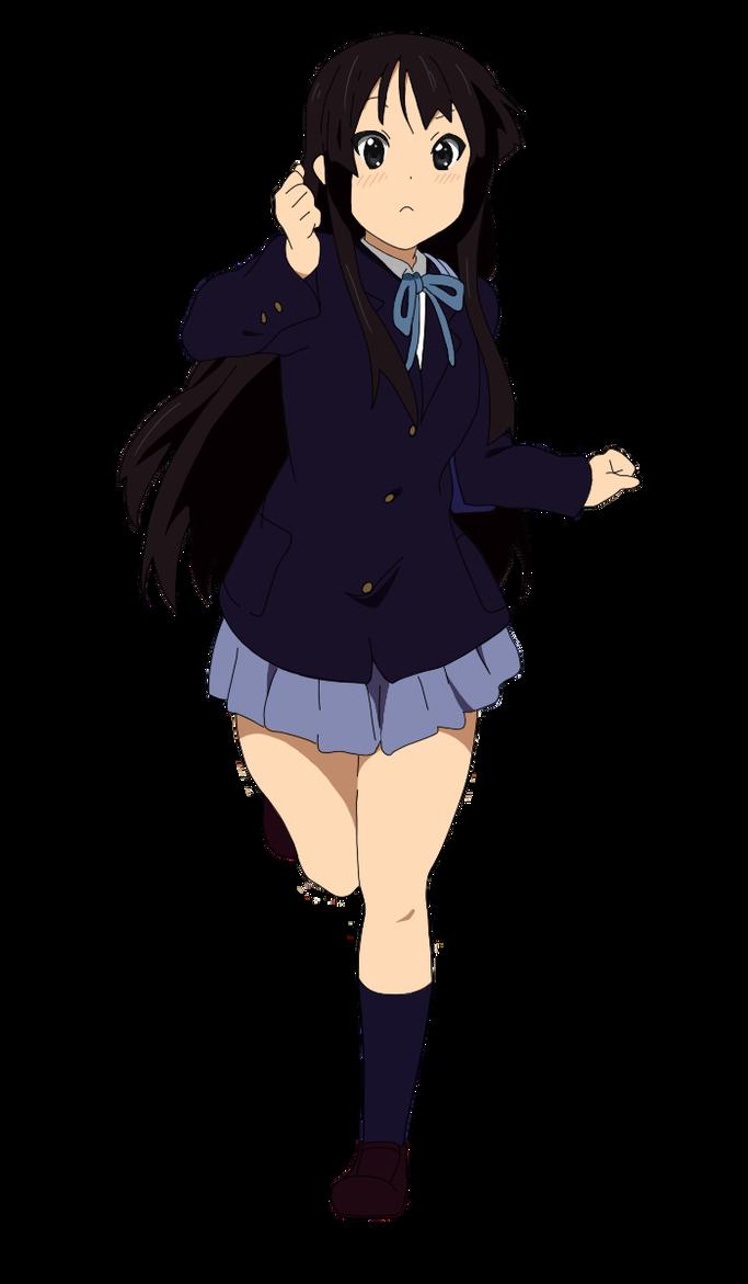 Run Mio Run By Miodaisuki On Deviantart Cute Anime Pics Cute Anime Character Anime Characters