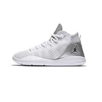 43fffdd7f16 Nike Jordan Reveal Gs Big Kids 834126-100 White Silver Basketball Shoes  Size 5.5