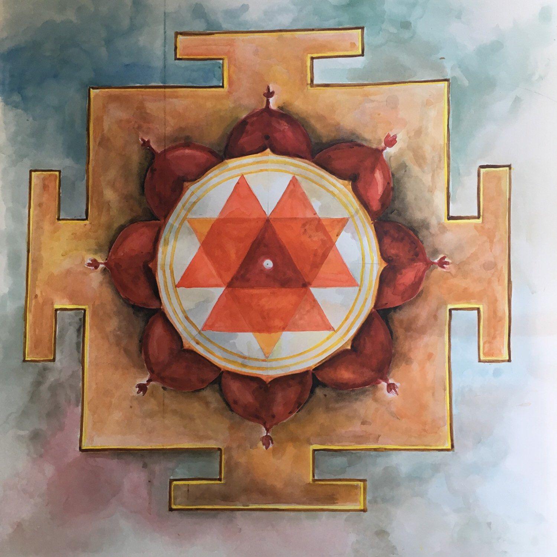 Poster Yoga Ratna • strumento didattico per lo yoga