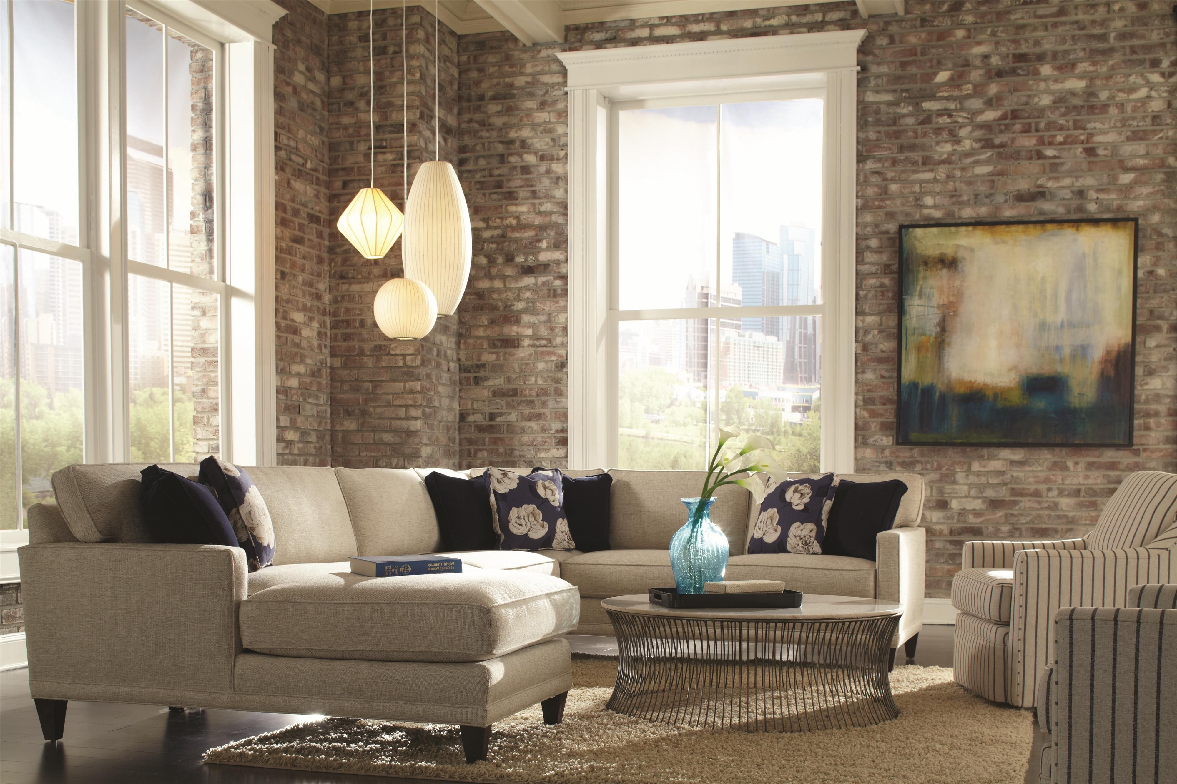 Rowe Townsend Casual Sofa Sectional Group Dream Home Furniture