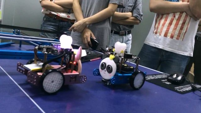 Makeblock educational robot kit - mbot demonstration
