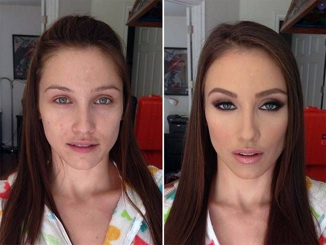 Shocking Pictures Of The Most Incredible Makeup Transformations Makeup Transformation Power Of Makeup Makeup