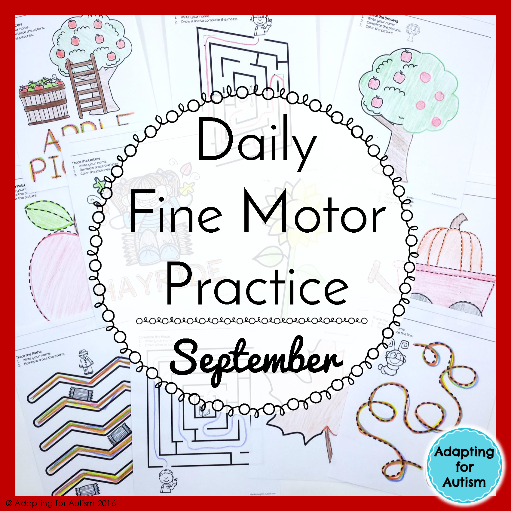 This No Prep Resource Targets Fine Motor Skills Pencil