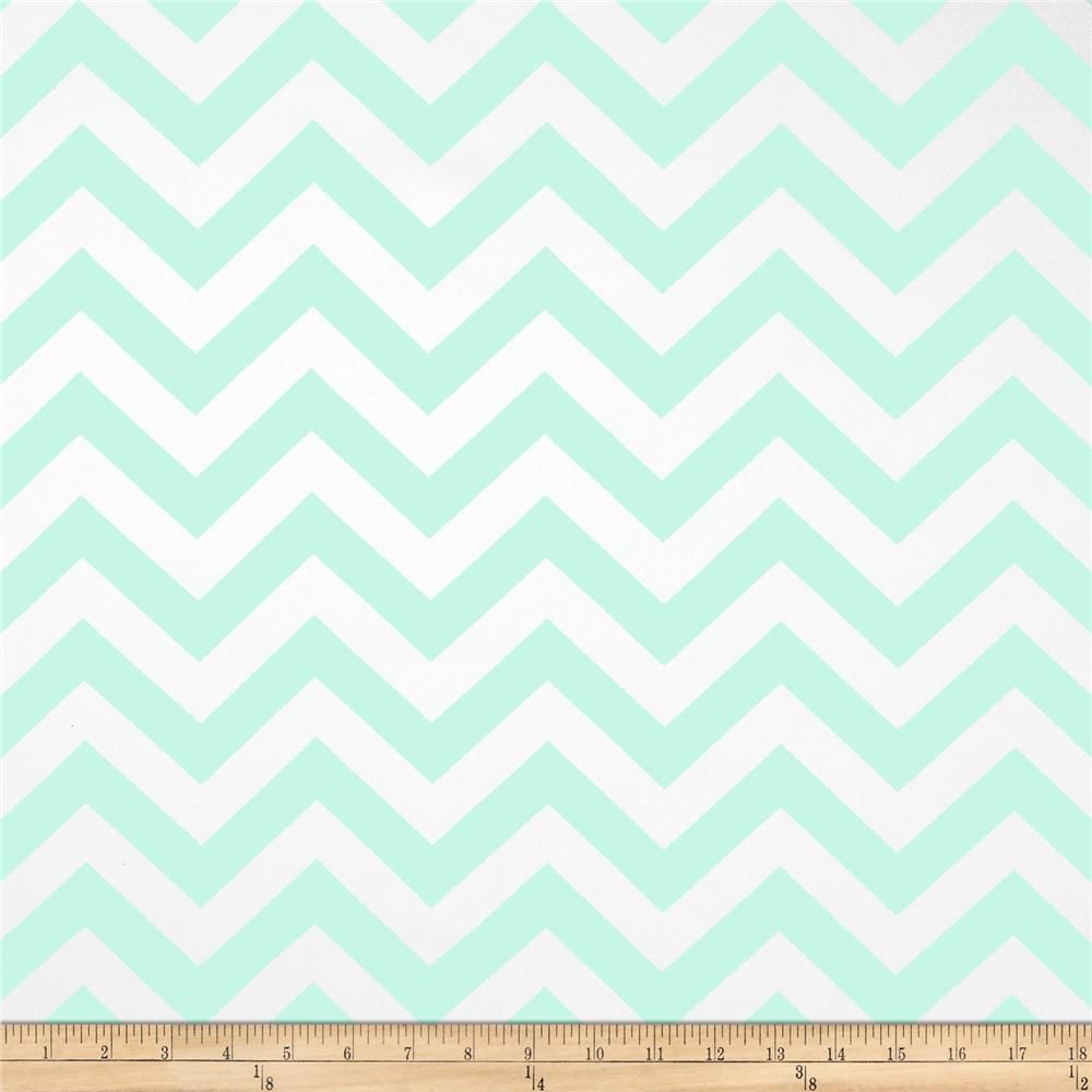 14847d3895e5 Premier Prints Zig Zag Twill Mint from @fabricdotcom Screen printed on  cotton twill; this versatile lightweight fabric is perfect for window  treatments ...