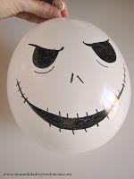 Globos de halloween Decoraci/ón de fiesta de Halloween sin anudar sellado autom/ático Regalar 8 Bolsa de papel vela