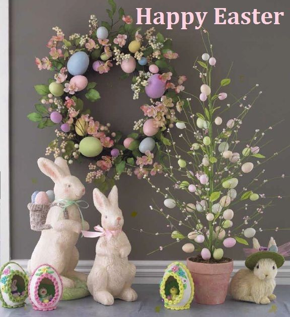 41 Fashionable Ideas To Decorate Your Home For Easter Easter Crafts Easter Tree Easter Egg Tree