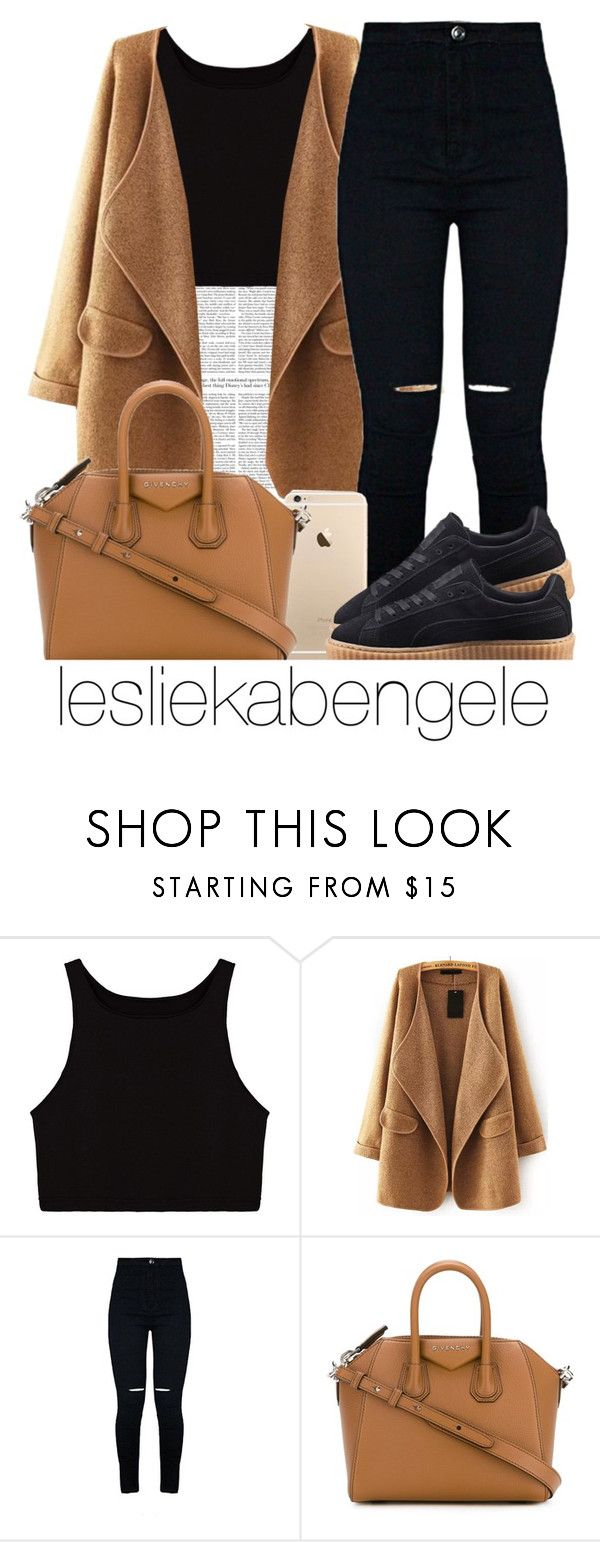 """""""Sans titre #325"""" by lesliekabengele ❤ liked on Polyvore featuring Givenchy and Puma"""
